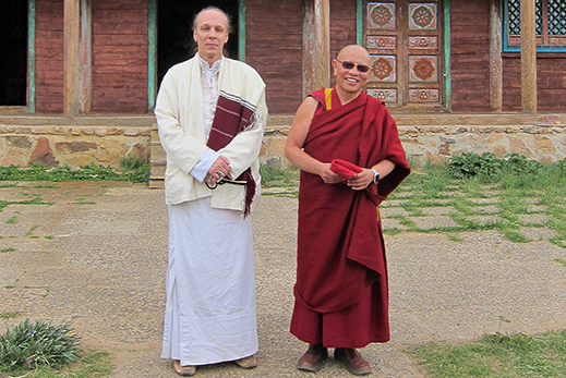 Cooperation with Jado Rinpoche – TK Rinpoche's journey to Mongolia