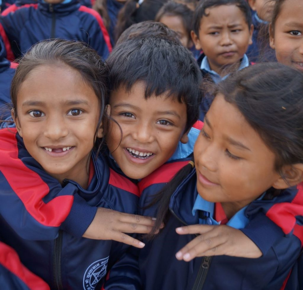 Nepalese pupils