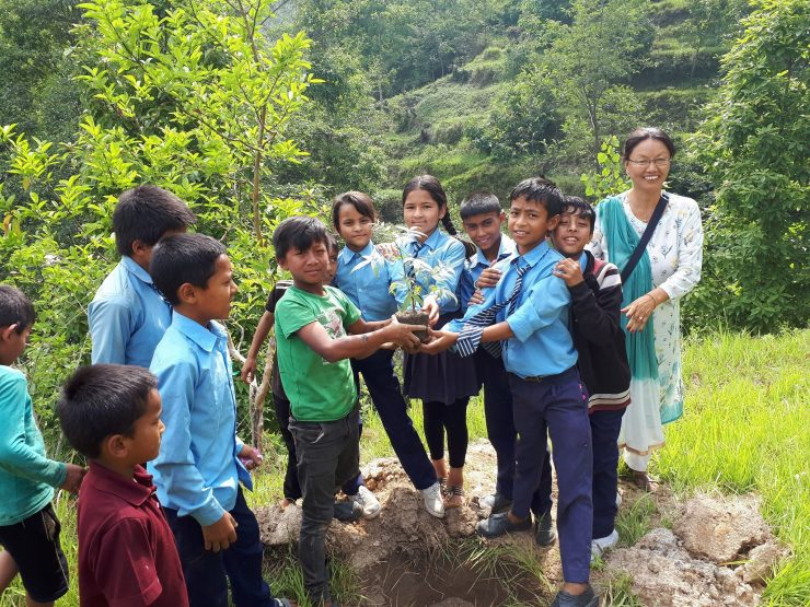 Tree planting campaign on World Environment Day